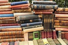 Stare książki Fotografia Royalty Free