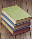 Stare książki Zdjęcia Royalty Free