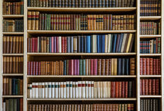 Stare książki obraz stock