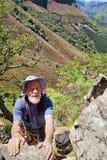 stare męskie arywista góry Zdjęcie Stock