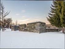 Stare młyn ruiny Zdjęcia Stock