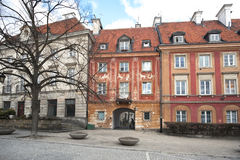 Stare Maisto - Old Town Warsaw Royalty Free Stock Photo