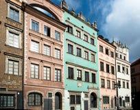Stare Maisto - vecchia città Varsavia Immagini Stock