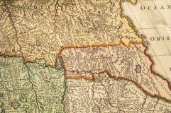 Stare mapy zdjęcia royalty free