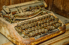 stare maszyny do pisania Zdjęcia Stock
