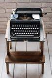 stare maszyny do pisania Rocznika maszyna do pisania zbliżenia maszynowy retro projektujący Zdjęcie Royalty Free