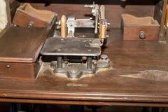 stare maszyny szycia obraz stock