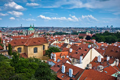 Stare Mesto (Old Town) view, Prague Royalty Free Stock Photos