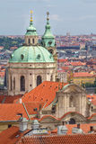Stare Mesto (Old Town) view, Prague Royalty Free Stock Photography