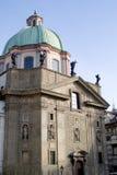 Stare Mesto Square. Old Church on the Stare Mesto square in Prague, Czech Republic Royalty Free Stock Photos