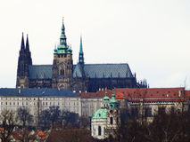 Stare Mesto , St. Vitus Cathedral. Prague, Czech Republic Royalty Free Stock Photos