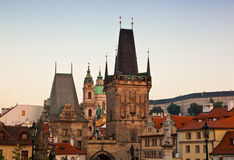 Stare Mesto view, Prague,. Stare Mesto Old Town view, Prague, Czech Republic royalty free stock image