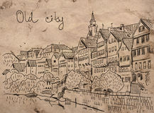 stare miasto Obrazy Royalty Free