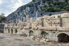 stare miasto antykwarskie konstrukcyjne ruiny zabijecie bramy przywódców wzmocnienia turcji Zdjęcia Stock