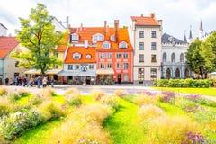 stare miasto Riga Fotografia Stock