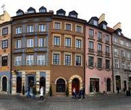 stare miasto Warsaw obraz stock