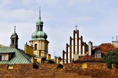 stare miasto Warsaw zdjęcia royalty free