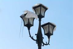 Stare mod latarnie uliczne Zdjęcia Stock