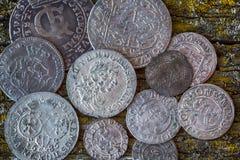 stare monety obrazy stock