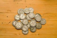 Stare monety zdjęcie stock