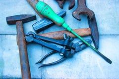 stare narzędzia Zdjęcie Stock