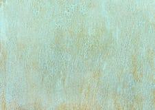 Stare ośniedziałe blizny malują krekingowego metalu talerza tekstury tło zdjęcie stock