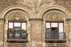 stare okno Zdjęcia Stock
