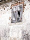 stare okno Zdjęcie Stock
