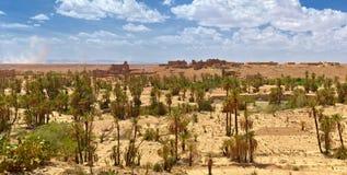 Stare osamotnione wioski Morokko Zdjęcia Royalty Free