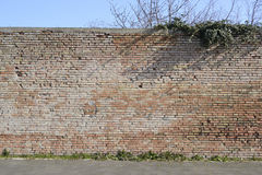 Stare perymetr ściany Obrazy Stock