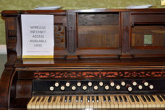 stare pianino zdjęcie stock