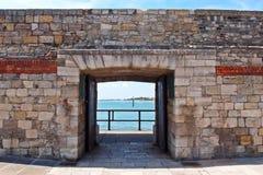 Stare Portsmouth gorące ściany Fotografia Stock