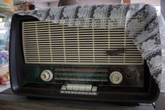 stare radio Zdjęcia Stock