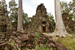 Stare ruiny Angkor Wat Fotografia Royalty Free