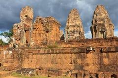 Stare ruiny Angkor Wat Fotografia Stock