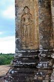 Stare ruiny Angkor Wat Obraz Royalty Free