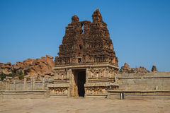 Stare ruiny Hampi, Karnataka Obrazy Stock