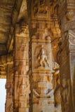 Stare ruiny Hampi, Karnataka Fotografia Stock