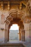 Stare ruiny Hampi, Karnataka Zdjęcia Stock