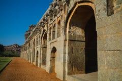 Stare ruiny Hampi, Karnataka Zdjęcie Stock