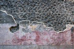 Stare ruiny w Pompeii Włochy zdjęcie royalty free