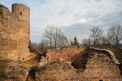 stare ruiny z zamku Obraz Stock