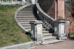 stare schody Zdjęcia Royalty Free