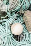 stare sieci rybackich Zdjęcie Stock
