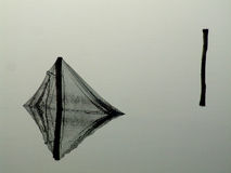 stare sieci rybackich obrazy stock