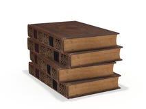 stare stosu książek ilustracja wektor