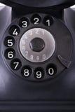 Stare telefon tarcze Zdjęcia Royalty Free