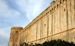Stare Tuscan ściany Obrazy Stock