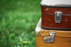 stare walizki Fotografia Stock