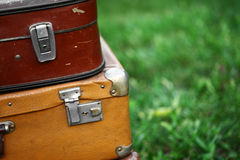 stare walizki Obrazy Stock